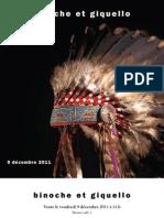 catalogue de la vente d'objets précolombiens et américains