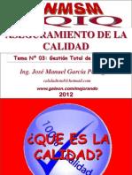 Tema 03 - Gestion Total de La Calidad