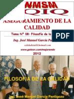Tema 08 - Filosofia de La Calidad