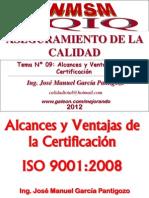 Tema 09 - Alcances y Ventajas de La Certificacion