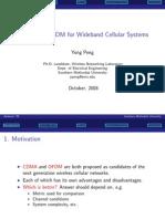 CDMA vs OFDM