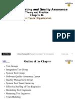 Ch16-TestTeamOrganization