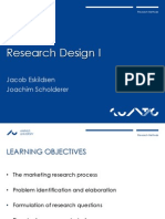 Lecture 01 - Research Design I (Slide Format)