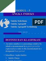 Modul 5 Angka Indeks
