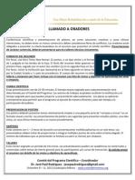 Call for Oradores-mexico 2012