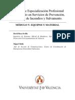 Módulo V. Equipos y Material