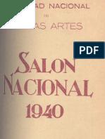 Salón nacional 1940. Museo de Bellas Artes