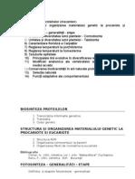 Subiecte Licenta Biologie Up