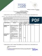 FORMATO ACPO00401 Dosificacion y Avance Programatico Int. a La Mec Del Med Continuo Ago2006-Feb2007