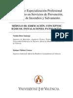 Módulo III. Edificación. Conceptos Básicos. Instalaciones Patológicas