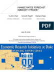 Can Exchange Rates Forecast Commodity Prices