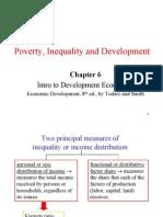 Poverty Inequality & Development