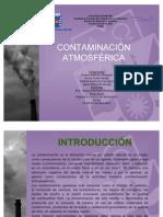 CONTAMINACION ATMOSFERICA 2O11