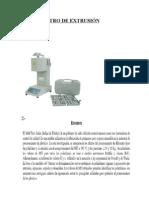 PlastÓmetro de ExtrusiÓn