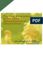 pediatric assessment