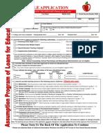 2009-10 APLE Application