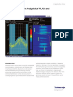 15 Real-Time Spectrum Analysis for WLAN and Combo Devices - AFC