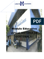 Modulo Educativo Virtual Historia I