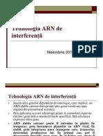 Tehnologia ARN de interferenţă