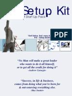 Business Setup Kit brochure