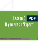 Lesson c if Youre an Expert PDF OMC2 by Jomar Hilario