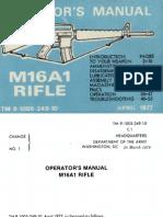 Army M16A1 Manual[1]