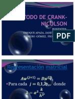 MÉTODO DE CRANK- NICOLSON