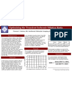 2005 SNM Poster - Optimization of the Transient Ischemic Dilation Ratio
