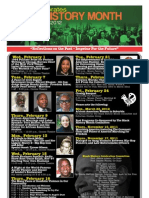 Black History Month at Bergen Community College (February 2012)