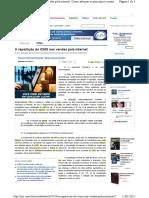 REPARTIÇÃO DOM ICMS NO COMERCIO PELA INTERNET