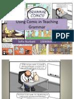 Using Comic in Teaching Grammar