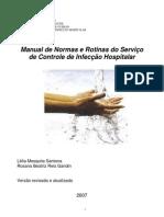 Manual de Normas e Rotinas do Serviço de Controle de Infecção Hospitalar