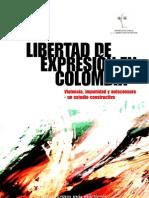 Informe Libertad de Expresion en Colombia