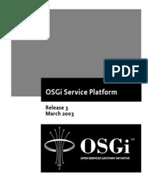 Osgi Service Platform | Contractual Term | Damages
