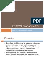 Aula 13 - Portfolio Acadêmico