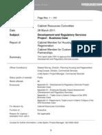 DRS Business Case - Barnet Council
