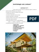Constructii ecologice