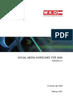 Wko Social Media Guidelines 2011