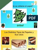 Educacion Tecnologica Papel, Madera y Telas