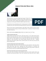 Petuah Dan Pelajaran Cinta Dari Steve Jobs