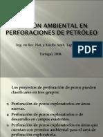 GESTIÓN AMBIENTAL en Perforaciones de Petróleo