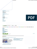 Football News, Match Reports and Fixtures _ Football _ the Guardian