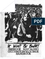 It Won't Be Built-Seabrook May 24 1980 Occupation Blockade Handbook