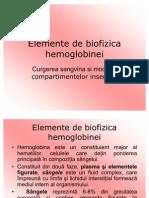 C3 Elemente de Biofizica Hemoglobinei