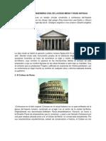 Obras de Ingenieria Civil de La Edad Media y Edad Antigua