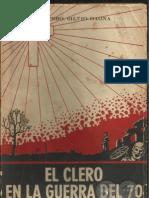 EL CLERO EN LA GUERRA DEL 70 - PBRO.SILVIO GAONA - Asunción 1961 - Paraguay - PortalGuarani