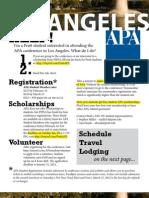 APA Conference Info