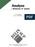Analyse DEUG Sciences 2e année_TSS