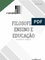 Filosofia-Ensino e educação