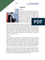 """Resumen """"Tiempo entre costuras"""" - María Dueñas"""